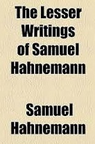 lesser writings of Hahnemann