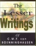 lesser writings