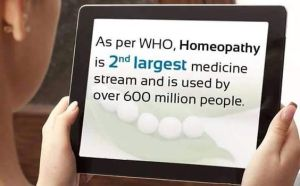 WHO says 600 million people use homeopathy