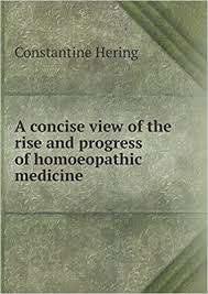 rise and progress of homeopathic medicine hering