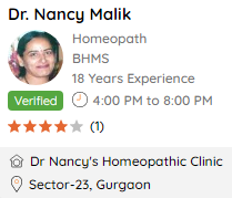 Dr Nancy Malik on DocPrime